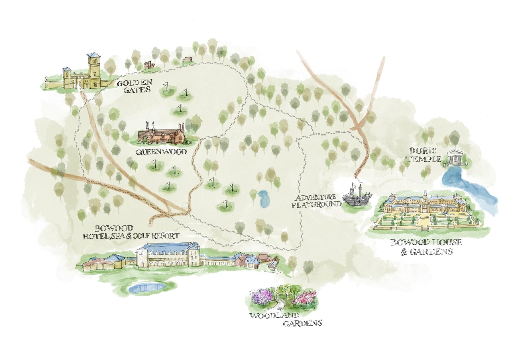 House Garden Map >> Gardens Wiltshire Country Estates Wiltshire Capability Brown