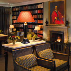 The Library at Bowood Hotel