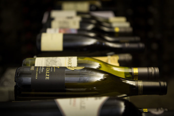 Wide selection of Wine