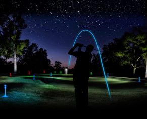 Into the Dark Night Golf Challenge