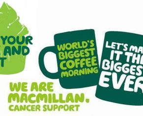 Macmillan Coffee Morning in the Treehouse Cafe at Bowood House and Gardens.