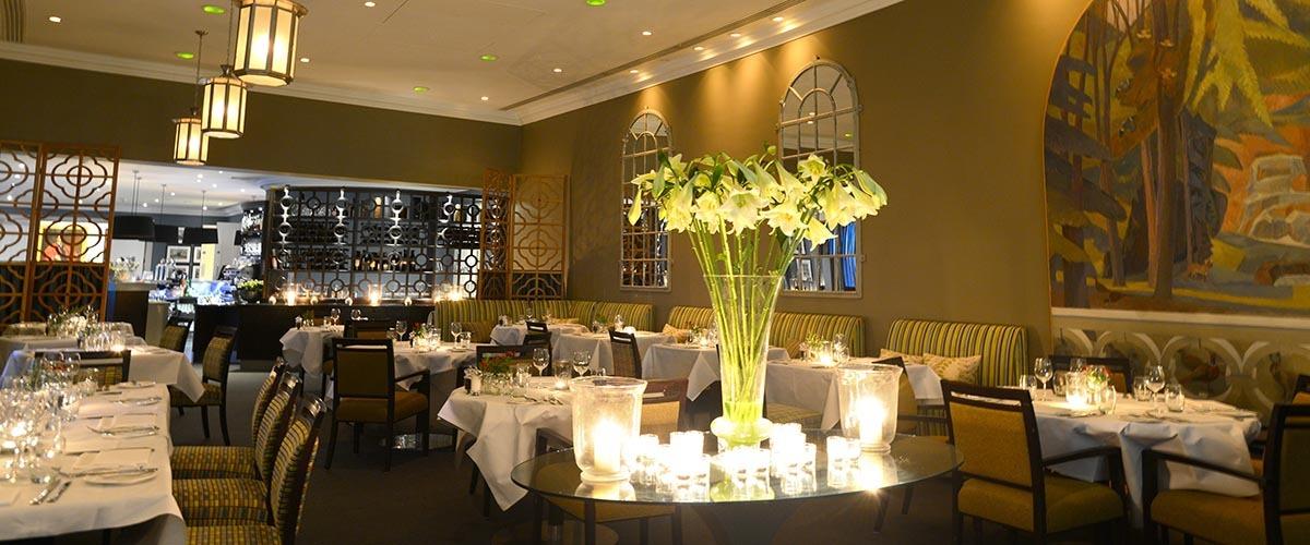 The Shelburne Restaurant at Bowood