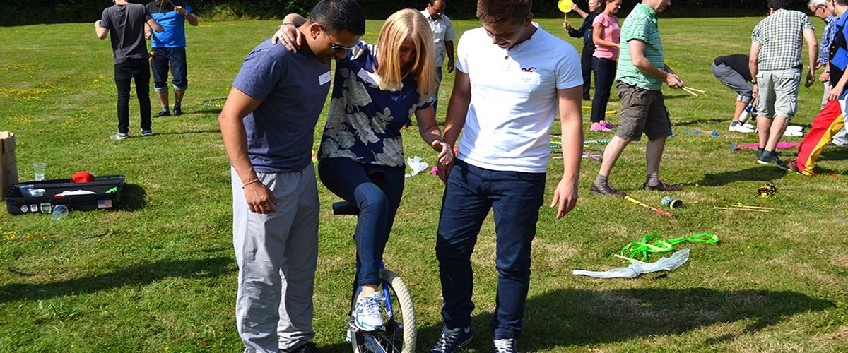 Team Building Events at Bowood