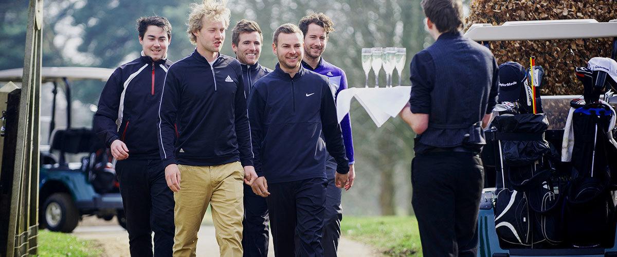 Golf Event Queenwood Lodge