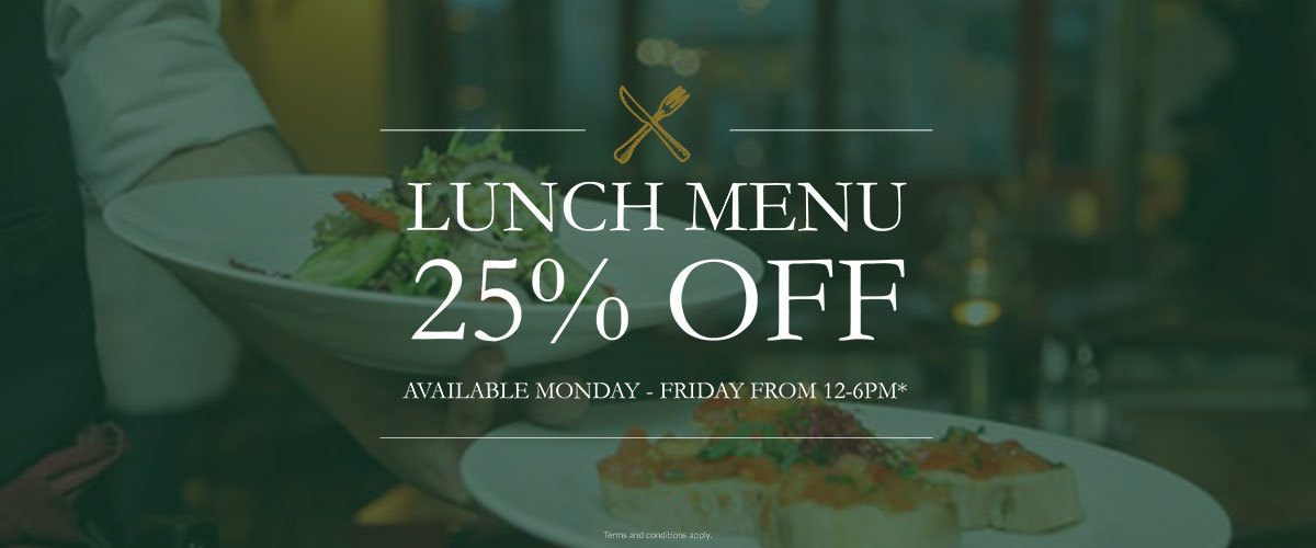 25% off Lunch at the Shelburne Restaurant