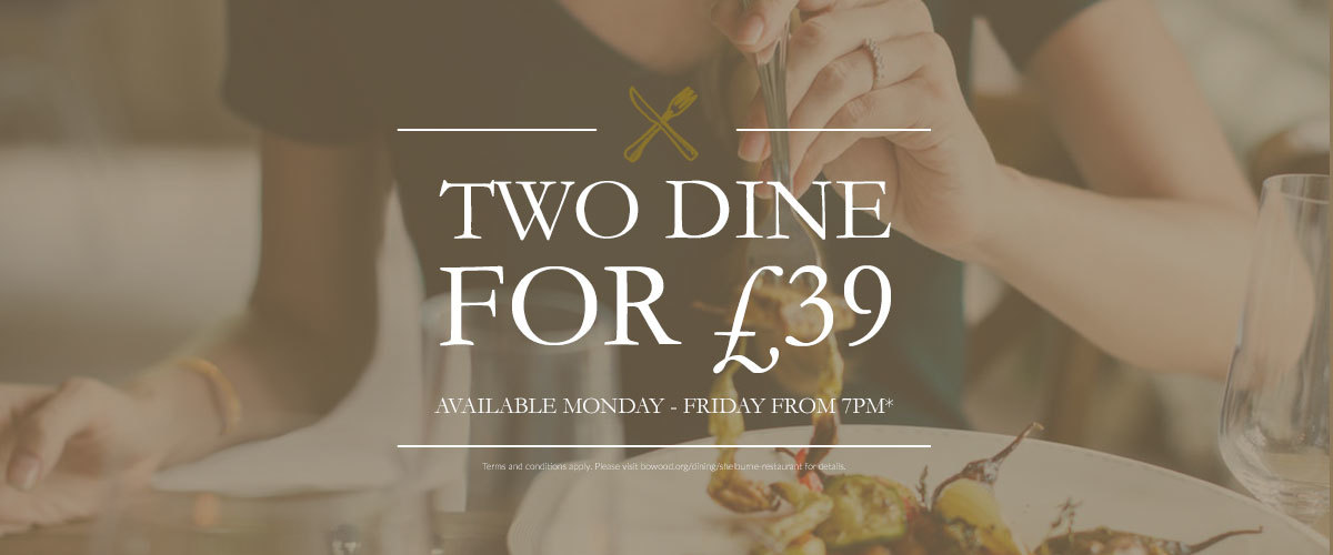 Two dine for £39 in the Shelburne Restaurant