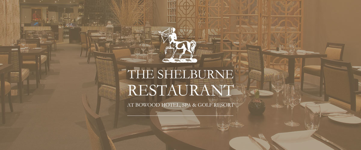 Shelburne Restaurant at Bowood Hotel, Spa & Golf Resort